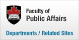 Faculty of Public Affairs | Related Sites